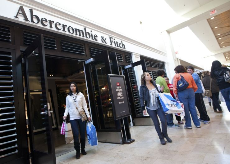Abercrombie and Fitch will sell cbd products in over 160 stores