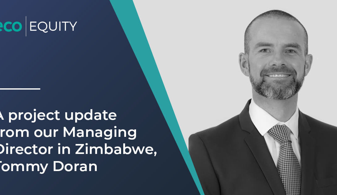 A project update from our Managing Director in Zimbabwe, Tommy Doran